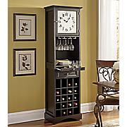 wine cabinet clock