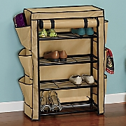 heavy duty two tone shoe storage
