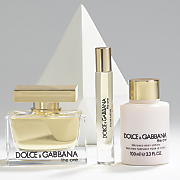 the one 3 pc  set by dolce gabbana