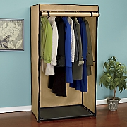 heavy duty two tone coat closet