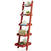 modern ladder shelf