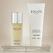 2 pc  escape for him by calvin klein