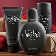 3 pc  men s dark obsession set by clavin klein