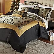 monarch 21 pc  jacquard bed set