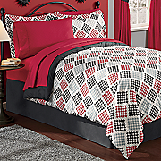 Duncan Complete Bed Set and Window Treatments