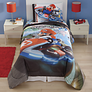 super mario road rumble comforter and sheet set