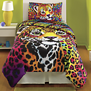 wild side comforter and sheet set by lisa frank