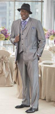 Men's Patrick Hat, 3-Piece Suit, Shirt Set & Forsythe Shoe