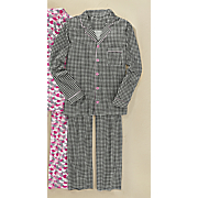 women s micro fleece pj set by steve harvey