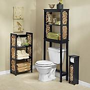 Black Scroll Bathroom Furniture