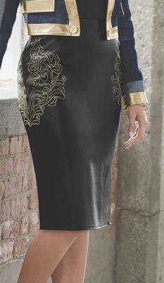 Glyris Embroidered Skirt