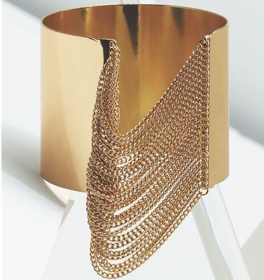 Chain/Wide Band Cuff