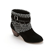 Straps and Lace Bootie by Midnight Velvet