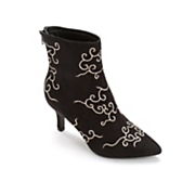 swirl top bootie by midnight velvet