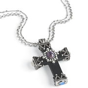filigree cross pendant
