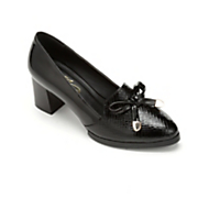 patent bow shoe by midnight velvet