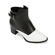 black   white bootie by midnight velvet