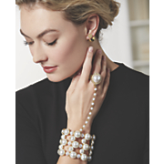 faux pearl hand jewelry 175