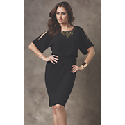 Talita Studded Yoke Dress
