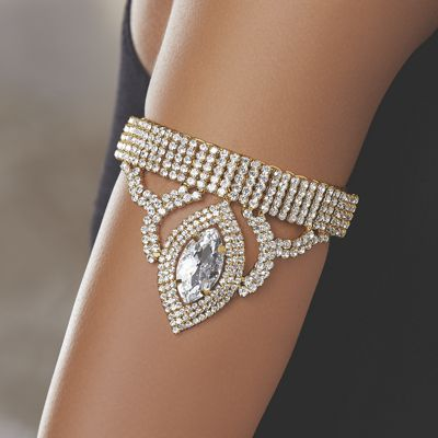 Marquise Crystal Arm Jewelry