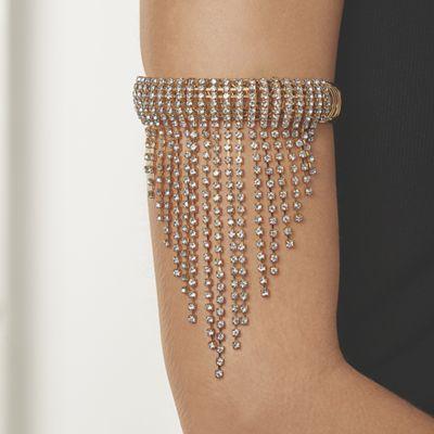 Crystal Fringe Arm Jewelry