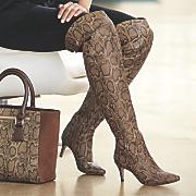 city girl thigh high boot