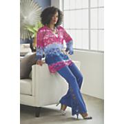 Carine Crochet Top and Arabella Pant