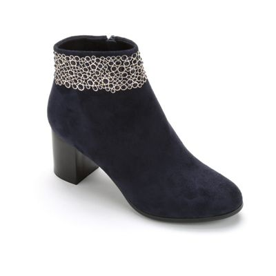 Embellished Ankle Bootie by Midnight Velvet