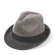colorblock fedora
