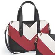 Chevron Satchel