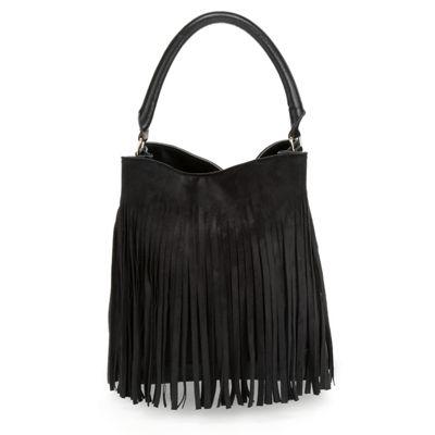 Full Fringe Hobo Bag