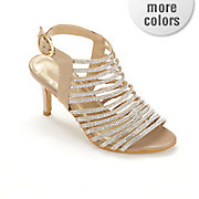 multi strap rhinestone sandal by midnight velvet