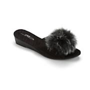 wedge slipper by midnight velvet