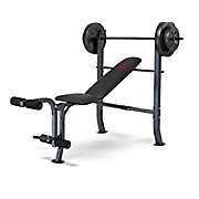Marcy Diamond 80-Lb. Weight Set and Bench