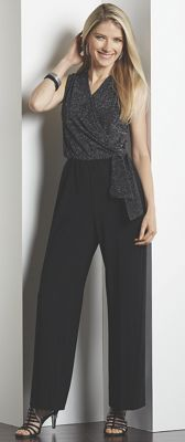 Sparkle Knit Jumpsuit