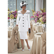 Oriel Hat and Skirt Suit