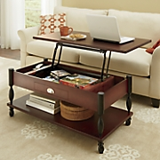 ellington lift top coffee table