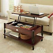 Ellington Lift-Top Coffee Table and End Table