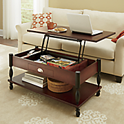 ellington lift top coffee table and end table