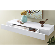 wall shelf with drawer
