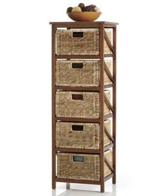Woven Basket Drawers