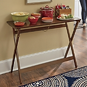 folding buffet table