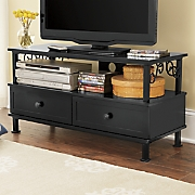scrollwork tv stand