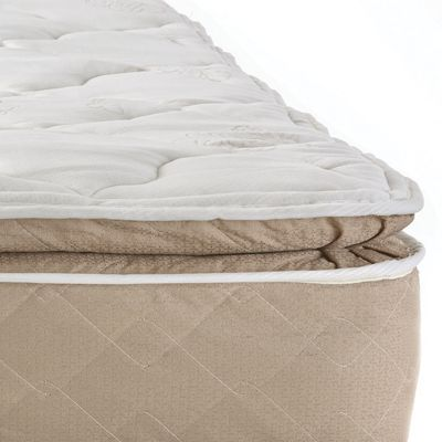 Sleep Comfort Back Aid Pillow Top Mattress