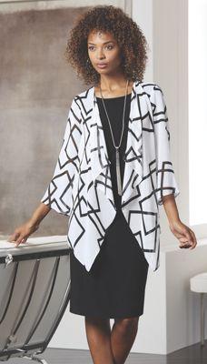 Squared Jacket Dress