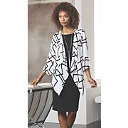 squared jacket dress 8