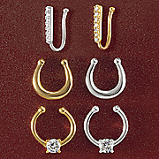 non pierced nose jewelry