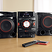 700 watt mini shelf system with auto dj by lg
