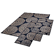 3 pc  aztec rug set