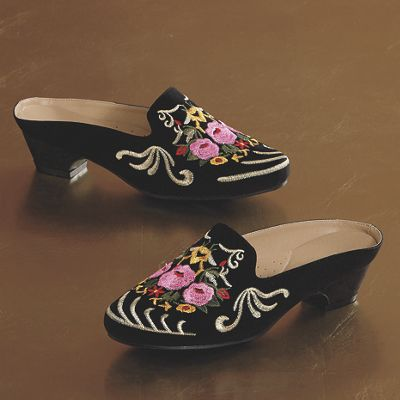 Gypsy Embroidered Slide